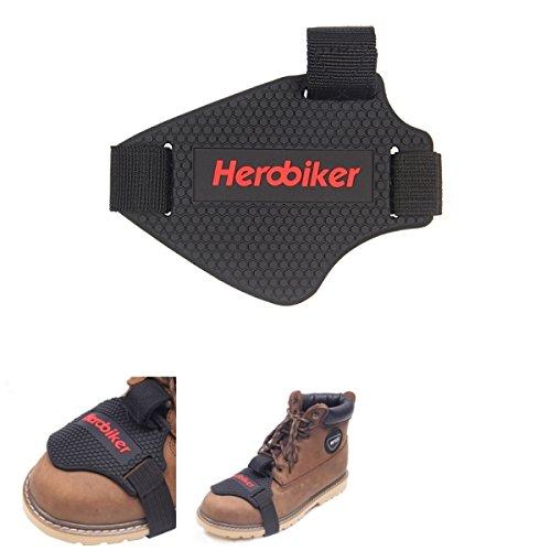 Alamor Motorrad Schalthebel Boot Schuhe Abdeckung Schmutzfahrrad Shift Guard Protektor Schutzkleidung Schwarz