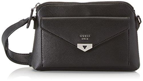 Guess Hwbk6792140, sac à bandoulière Nero, 13x29x43 cm (W x H L)