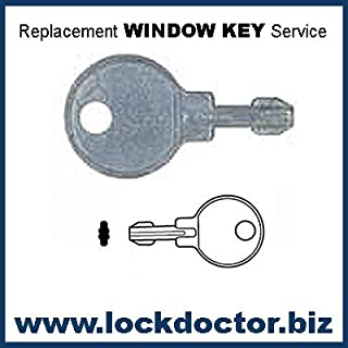 Pair of WLCEGO Cego Window Keys supplied by Lock Doctor Services Ltd