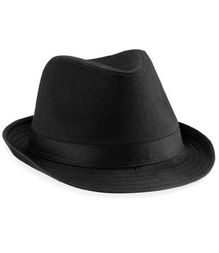 Beechfield Hut Fedora, Black, (Fedoras Hüte)