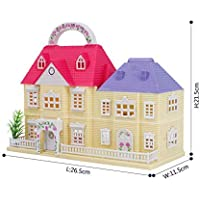 BAYBEE Funbee Happy Home House Building Block Toys -Basic Architect for Kids