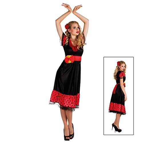 Tanz Kostüm Lateinamerika - Boland 87220 - Kostüm Flamenco, Einheitsgröße 36-42