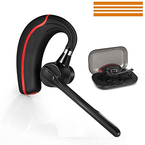 Android-home-ladegerät (Bluetooth Headset, Wireless Headset Kopfhörer Bluetooth V4.1 Handfreies drahtloses Ohrhörer mit Mute Funk Kopfhörer Rauschunterdrückung Ohrhörer mit Mikrofon für Android / Iphone / PC, Auto / LKW Fahrer Business Headsets (Spoon_headset))