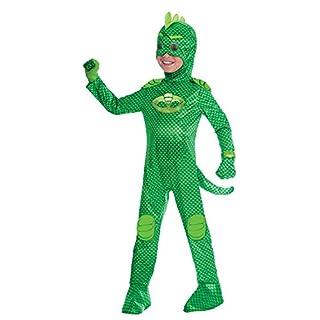 Amscan 9902968 Kinderkostüm PJ Masks Gecko, Grün, 3-4 Jahre