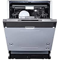 Kaff DW Spectra 60 | Built in Dishwasher | 12 Standard Place Settings | Three Stage Filtration System | Memory Function