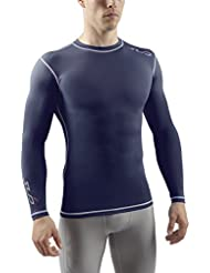 SUB Sports DUAL T-shirt de Compression Manches Longues Homme