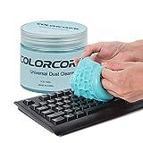Tastaturreiniger Reinigungsgel Universal-Staubreiniger Reinigen Sie die Lücke für die Laptop PC Computer Tastatur Lüftungsöffnungen im Auto tastatursauger Blau