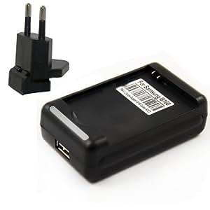 Neuf EU Chargeur de batterie adapteur Pour Samsung Galaxy Ace 2 i8160/S3 Mini i8190/S7562