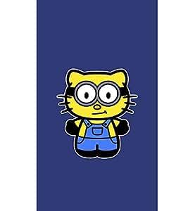 EPICCASE Pussy Cat Minion Mobile Back Case Cover For LG Pro Lite (Designer Case)