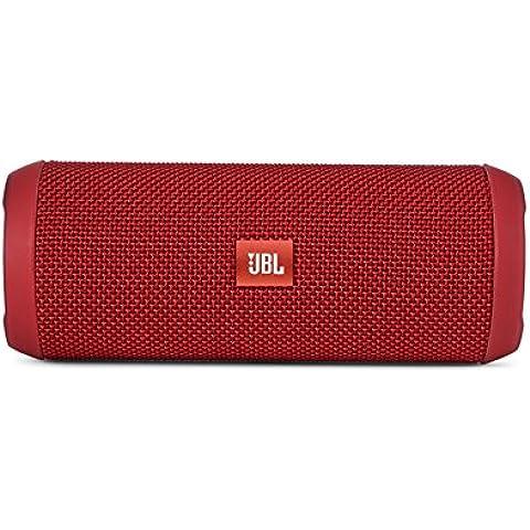 JBL Flip 3 - Altavoz portátil (Bluetooth, Micro USB, 3000 mAh) color rojo