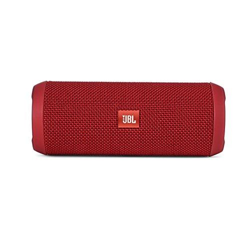 JBL Flip 3 - Altavoz portátil (Bluetooth, Micro USB, 3000 mAh), color rojo