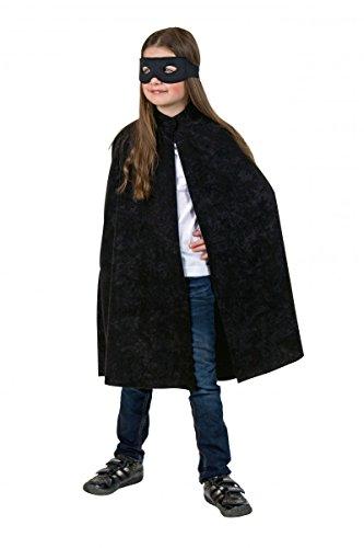 Costume pour enfants Cape avec col noir-Taille (Allemand Caractéristiques) 152/164