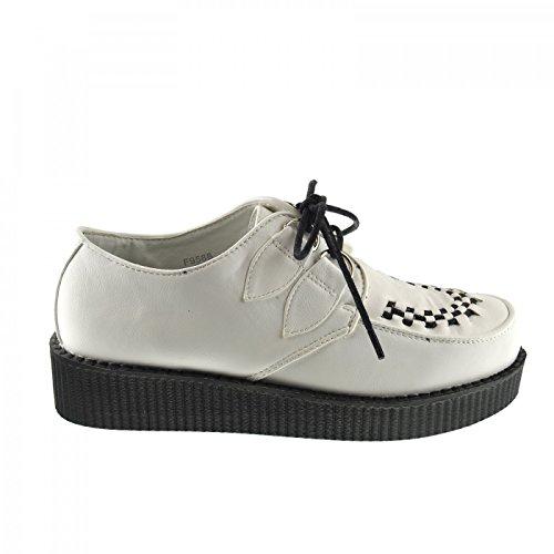 Kick Footwear - Donna Liane Moda Scarpe Bianco
