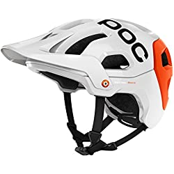 POC Cilindro de casco tectal Race Varios colores Hydrogen White/Iron Orange Talla:extra-small/small