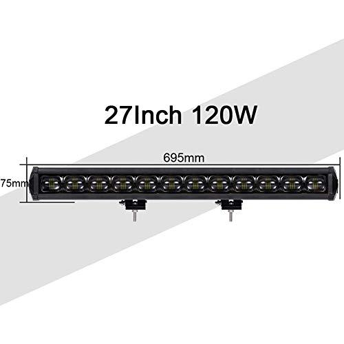LED Barre Lumineuse De 6D, Projecteurs Bande Projecteur Phare Voiture Lumières Faisceau Projecteur, Road éclairage Hors Route Conduite Bateau