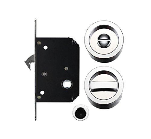 Puerta corredera de bolsillo baño Privacidad Lock Set