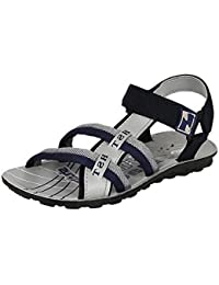 Jabra Men's Pu-2 Grey Fashionably Top Quality Casual Sandals for Men