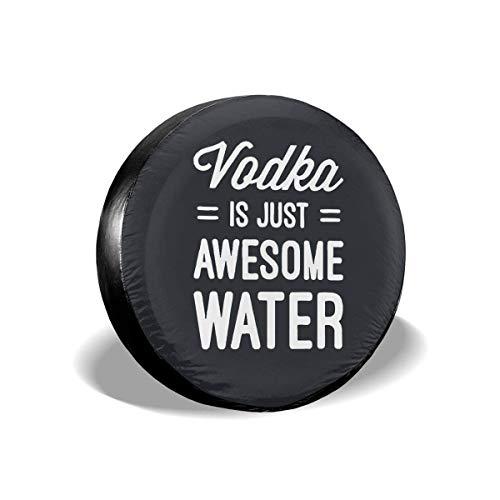 VTIUA Vodka is Just Awesome Water Polyester Universal Sunscreen Universal Ersatzreifen Rad Weiche...