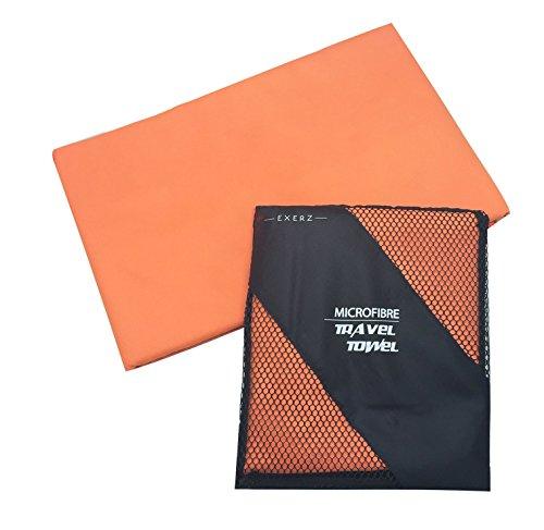 Exerz Micro XL (150 x 85 cm) in Microfibra Asciugamano da Viaggio/Teli Mare/Asciugamano...