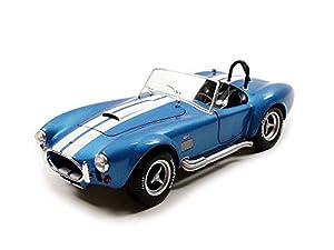 Solido S1850017 1965 427 Cobra MK II - Juguete de Modelo, Color Azul metálico, Escala 1:18