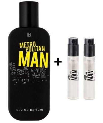 LR Metropolitan Eau de Parfum 50ml und 2 x Vapos Metropolitan EdP für unterwegs - London 50 Ml Edp