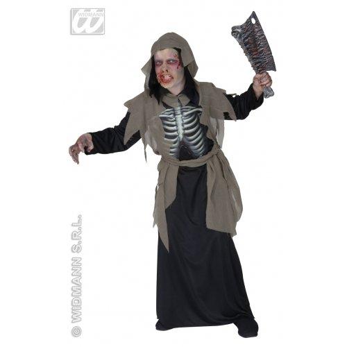 Widmann wdm55528-Kostüm für Kinder Zombie (158cm/11-13Jahre), mehrfarbig, S