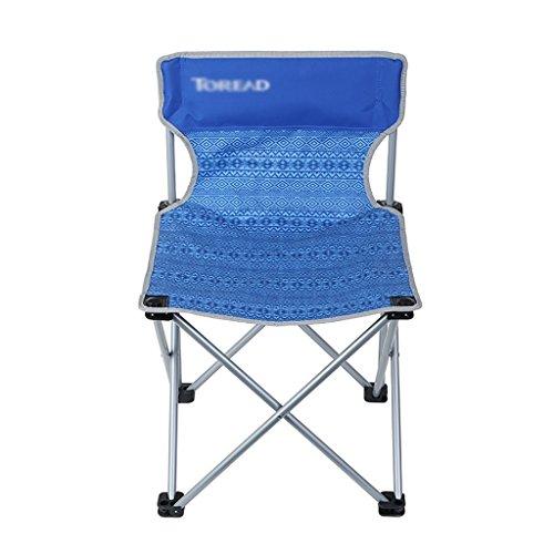 Y HWZDY Camping klappstuhl Camping Stuhl/Outdoor Klappstuhl, Angeln Freizeit Stuhl, Atmungsaktive Feste Portable Beach Chair, (Farbe : 1)