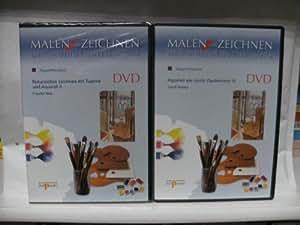 Malen und Zeichnen ~ Der Audiovisuelle Kurs auf DVD (12 DVDs)