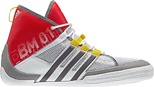 adidas Damen Herren Sailing Bootsschuh BM01, Farbe:rot, Größe:6.5
