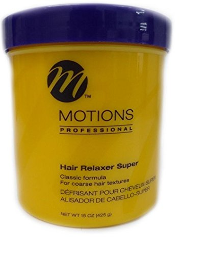 Relaxer / Glättungscreme Motions Hair Relaxer Super For Coarse hair textures 425g - Creme Hair Relaxer