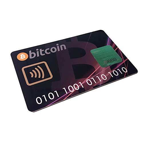 Bitcoin Hardware Wallet Card für Smartphone Android BTC Crypto Kryptowährung (Bitcoin-technologie)