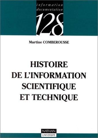Histoire de l'information scientifique et technique