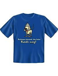 Vertraue niemanden aucune h-t-shirt en textiles