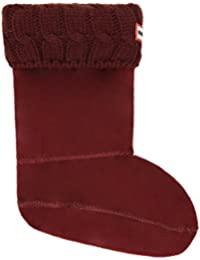Hunter Women's Original Short 6 Stitch Cable Wellington Boot Sock-Dulse-Medium (UK 3-5) Size Medium (UK 3-5)