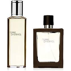 Hermes Terre D'Hermes Geschenkset 30ml EDT Refillable + 125ml EDT Refill