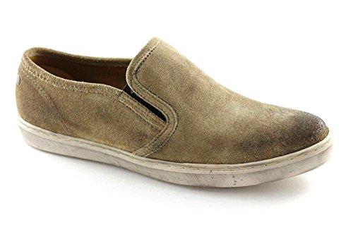 Chaussures BASE LONDON SPRIG PP10123 hommes glissent sur des mocassins en daim chaussures