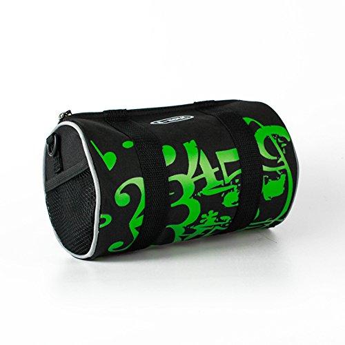 aizhe Fahrrad Front Tasche Rahmen Packtasche wasserdicht Aufbewahrungstasche Freizeit Schulter Umhängetasche grün
