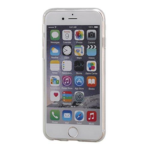 """iPhone 7Plus Handyhülle, iPhone 7Plus Liquid TPU Case, CLTPY Kreativ 3D Fließen Flüssig Bling Schwimmend Treibsand Herz, Glanz Shiny Kristallklar Schale Etui für 5.5"""" Apple iPhone 7Plus (Nicht iPhone  Orange"""