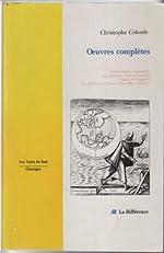 Oeuvres complètes de Christophe Colomb