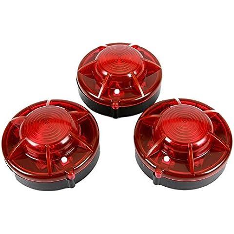 Zhuhaixmy 3 Confezione luci adsorbimento magnetico Flash