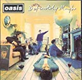 OASIS Definitely Maybe (Original 1994 Creation Records issue UK 11-track CD album including Rock n Roll Star Live Forever Supersonic and Cigarettes & Alcohol picture sleeve booklet CRECD169)