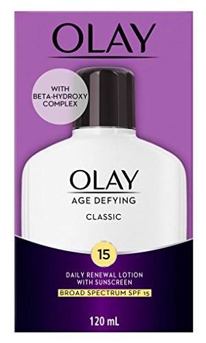 Olay Age Defying Classic Protective Renewal Lotion With Sunscreen With Ayur Sunscreen Lotion 50ml
