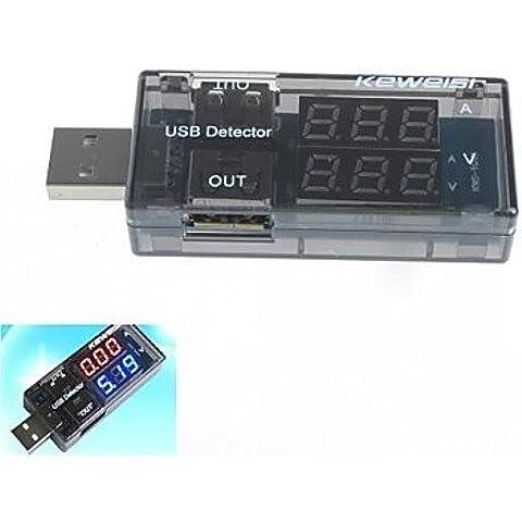 XMQC*USB Tester Current-Voltage doppia Mostra tavola