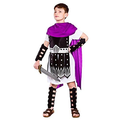 Krieger Kostüm Kinder Römische - Römische Krieger Kinder Kostüm X-Large - 11/13 Jahre
