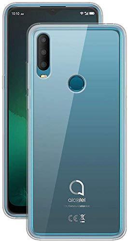 CaseExpert Alcatel 3X (2019) Hülle, Ultra dünn TPU Gel Handy Tasche Silikon Case Cover Hüllen Schutzhülle Für Alcatel 3X (2019)