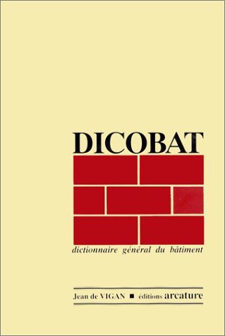 Dicobat 1996 : Dictionnaire général du...