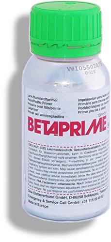 Betaprime 5500 | 100 ml Alu Flasche | Dow Automotive | Haftvermittelnde Grundierung Primer für Glas Keramik | Haftgrundlage für alle PUR-Klebmassen Dichtungsmassen (z. B. Betaseal und Betamate)