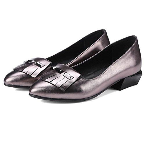 DecoStain Sandales Compensées femme gris foncé