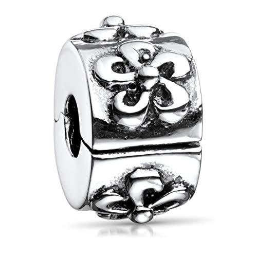 COOLSTEELANDBEYOND Acier Inoxydable Couleur dor Femme Bracelets Bracelets de Cheville AVCE Boule Charms