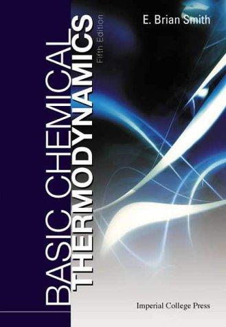 Basic Chemical Thermodynamics, Fifth Edition